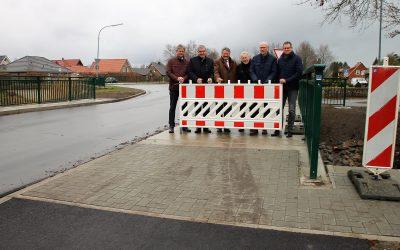 Brücke über Rühlermoorschloot eingeweiht