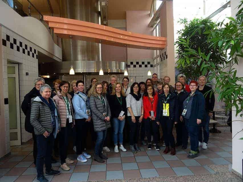 Schulleitungen und Sekretärinnen zu Besuch bei Apetito in Rheine