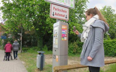 Parken mit dem Handy statt Kleingeld