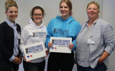 Ausbildungsbotschafter: IHK und HWK suchen engagierte Auszubildende