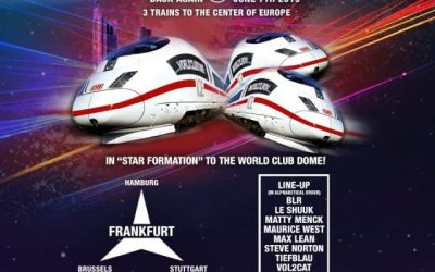 BigCityBeats WORLD CLUB DOME und Deutsche Bahn pres.: Die ,,BigCityBeats ICE Club Trains""