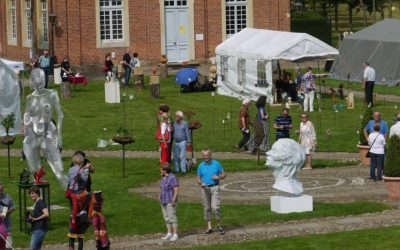 Kunstmarkt ParkArt auf Schloss Clemenswerth
